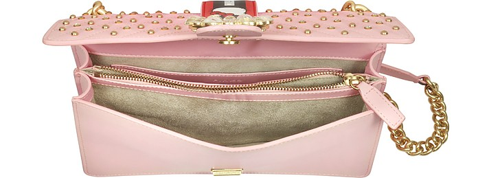 6404841962d2 Pinko Love Hello Kitty Jewel Pink Eco Leather Shoulder Bag at FORZIERI