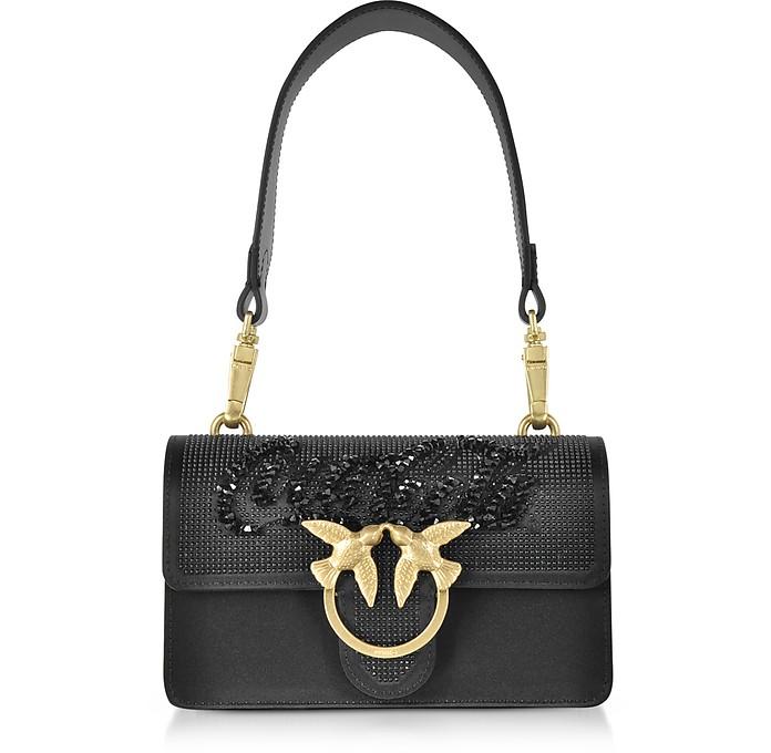 Black Mini Love Paprika Shoulder Bag - Pinko