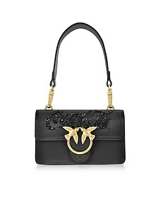 Black Mini Love Paprika Shoulder Bag - Pinko
