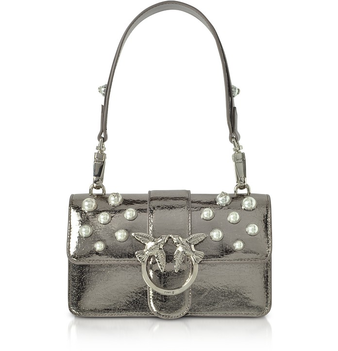Mini Love Shiny Pearl 1 Shouder Bag - Pinko