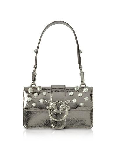 Mini Love Shiny Pearl 1 Shouder Bag - Pinko
