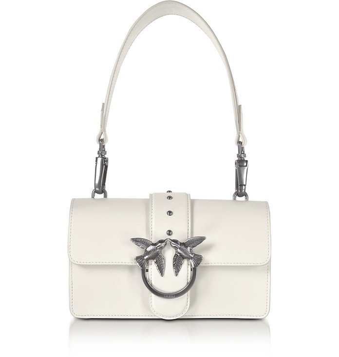 Mini Love Leather Shoulder Bag - Pinko