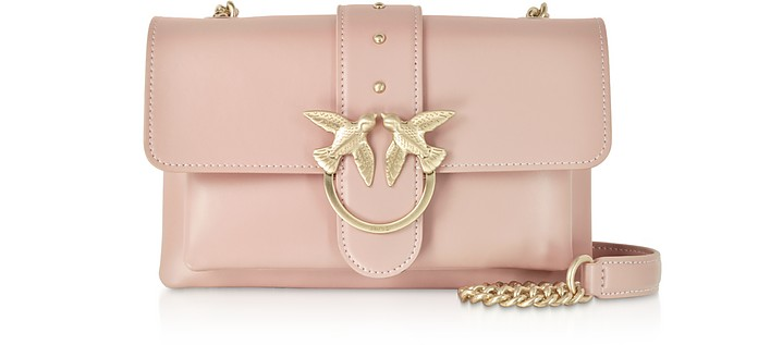 Mini Love Soft Shoulder Bag - Pinko