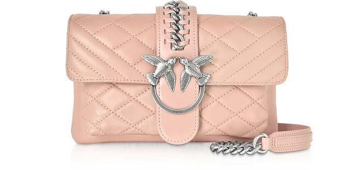 Mini Love Soft Mix Crossbody Bag - Pinko