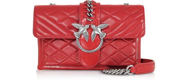 Mini Love Soft Mix Crossbody Bag - Pinko