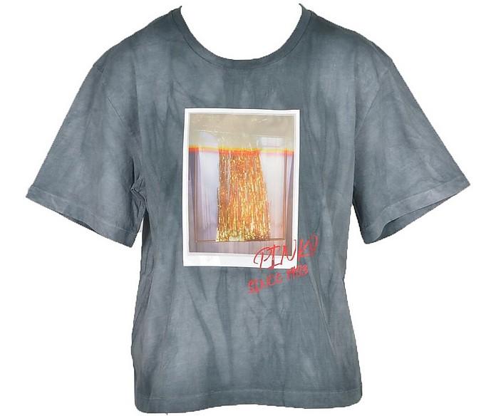 Women's Grigio/Stampa T-Shirt - Pinko