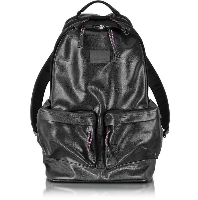 Black Backpack with Large Pockets - Kris van assche