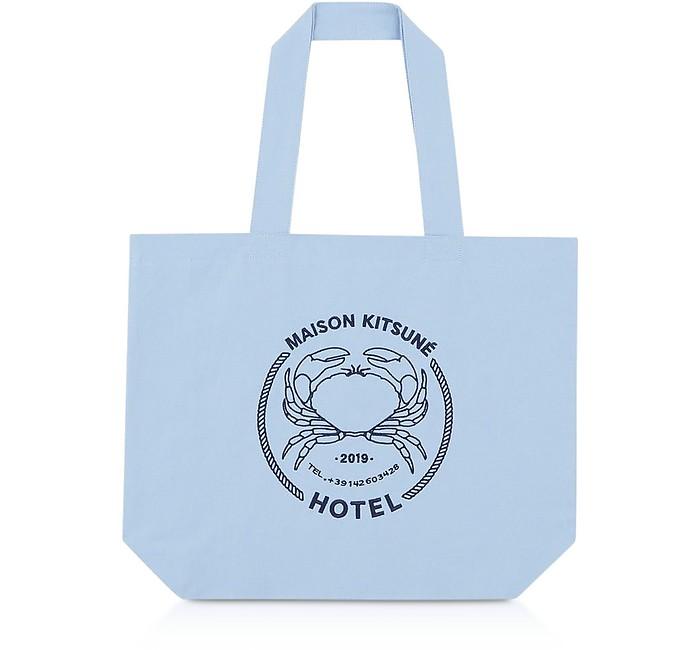 Hotel Canvas Tote Bag - Maison Kitsuné