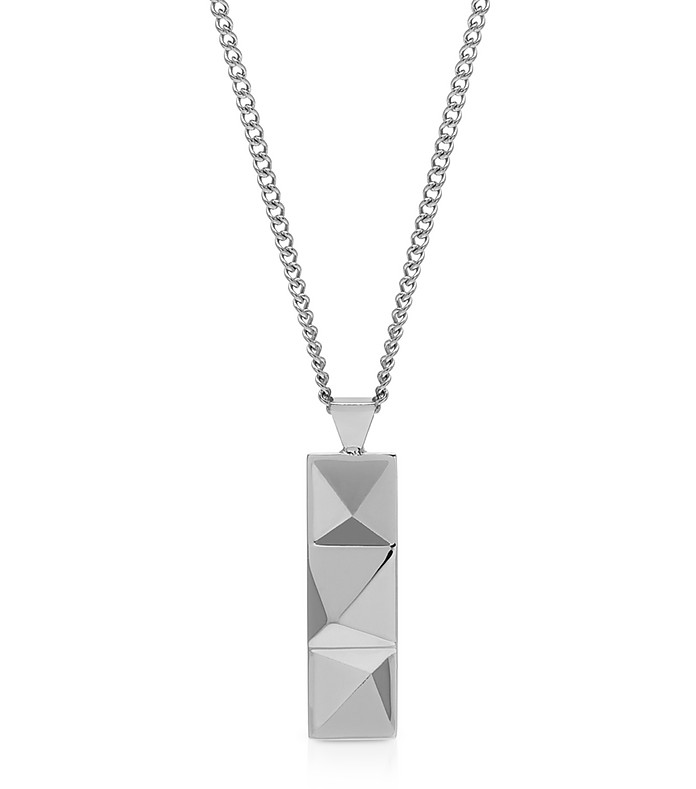 In'N'Out Tag Collier Argenté - Northskull
