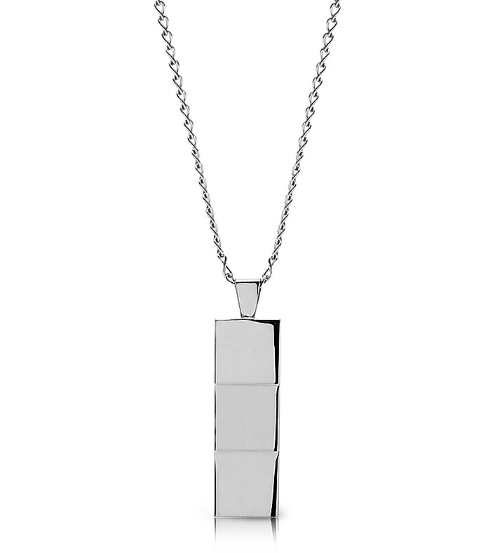 Layers Necklace Silver - Northskull