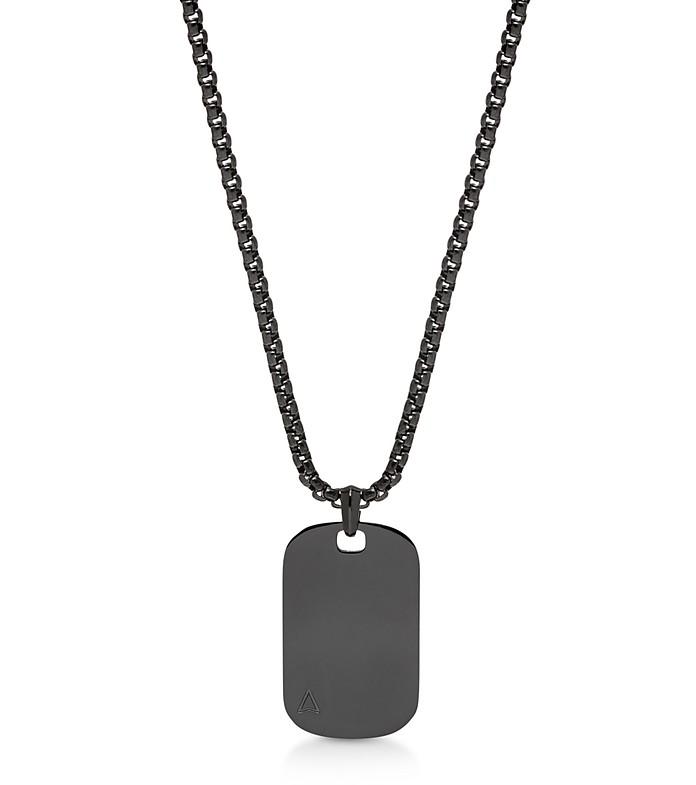 Id Tag Necklace Gunmetal - Northskull