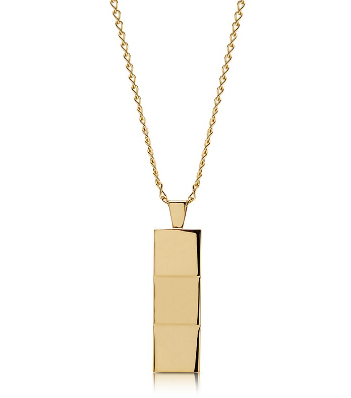 Layers Gold-tone Necklace - Northskull
