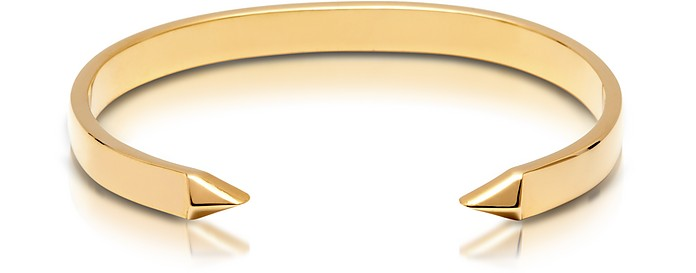 The End Gold Plated Brass Men's Cuff - Northskull