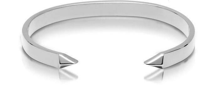 The End - Bracelet Manchette Homme en Laiton Argent - Northskull