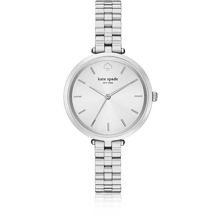 Holland Skinny Silver Tone Bracelet Watch - Kate Spade New York