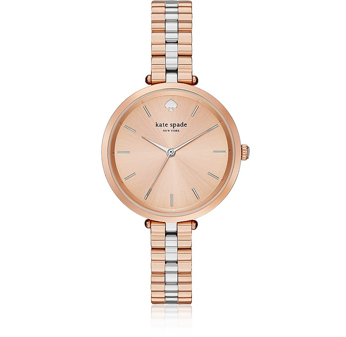 Holland Skinny Rose Gold and Silver Tone Watch - Kate Spade New York / ケイトスペード ニューヨーク
