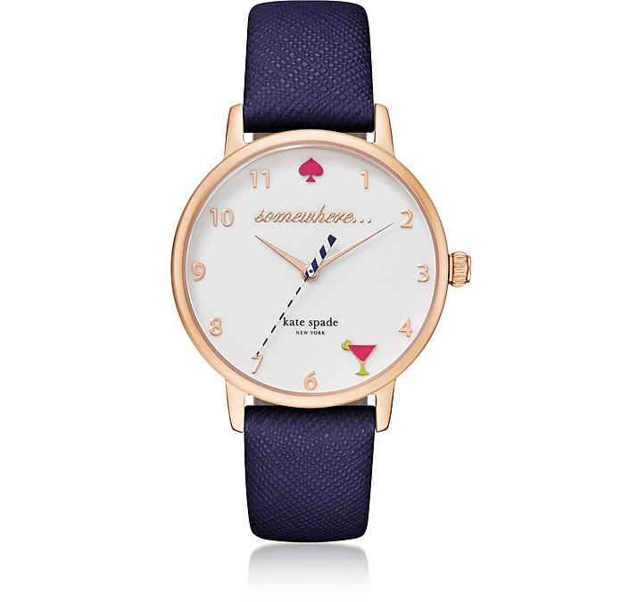 5 O'Clock Blue Metro Women's Watch - Kate Spade New York