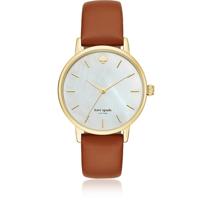 Metro Luggage Strap Women's Watch - Kate Spade New York