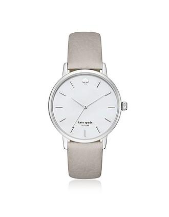 0c2aa8278c88 Classic Metro Silver Tone Gray Women s Watch - Kate Spade New York