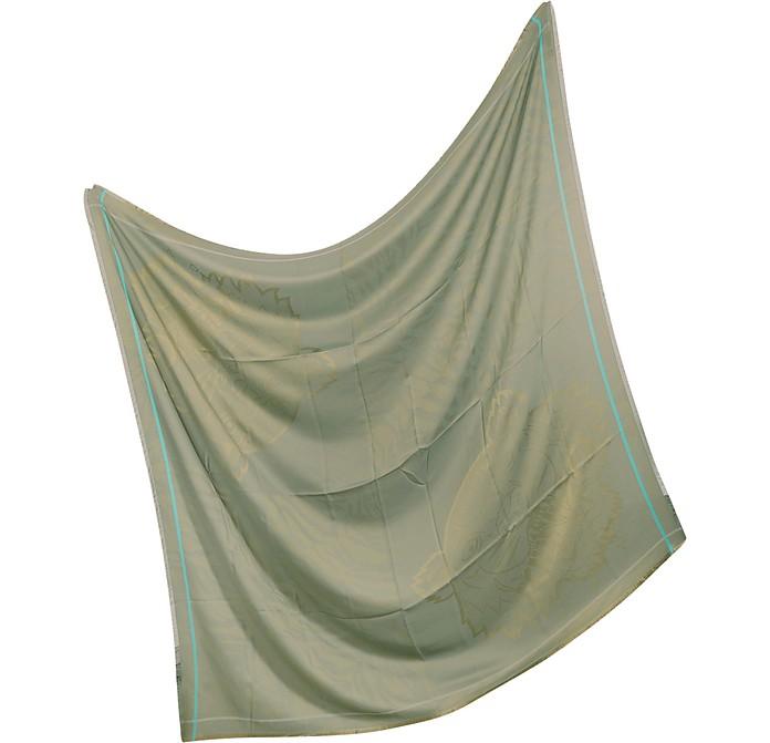 maxi foulard carr en soie kenzo sur forzieri. Black Bedroom Furniture Sets. Home Design Ideas