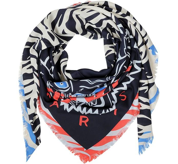 New Tiger Head Scarf/Wrap - Kenzo