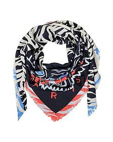 New Tiger Head Scarf/Wrap