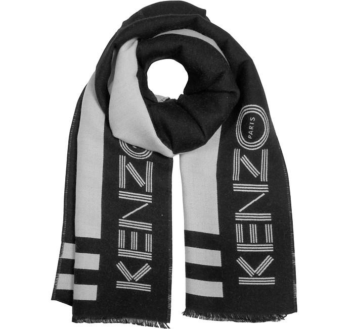 Kenzo Sport - Зимний Шарф из Смеси Шерсти - Kenzo