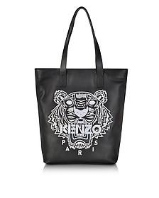Black Tiger Tote Bag