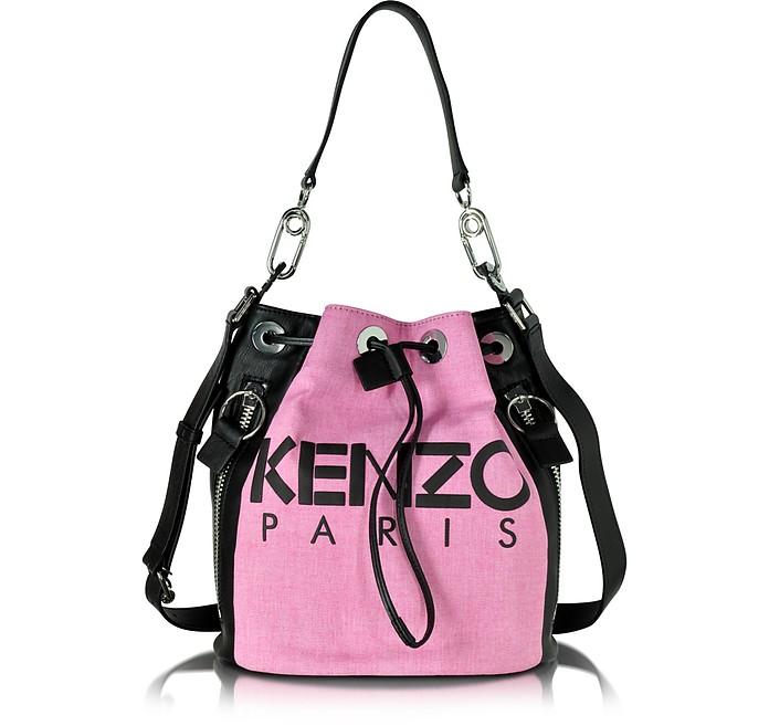 16269e0343 Kenzo Pink Kenzo Kanvas Bucket Bag at FORZIERI Canada