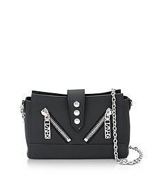 Black Gommato Leather Tiny Kalifornia Shoulder Bag - Kenzo