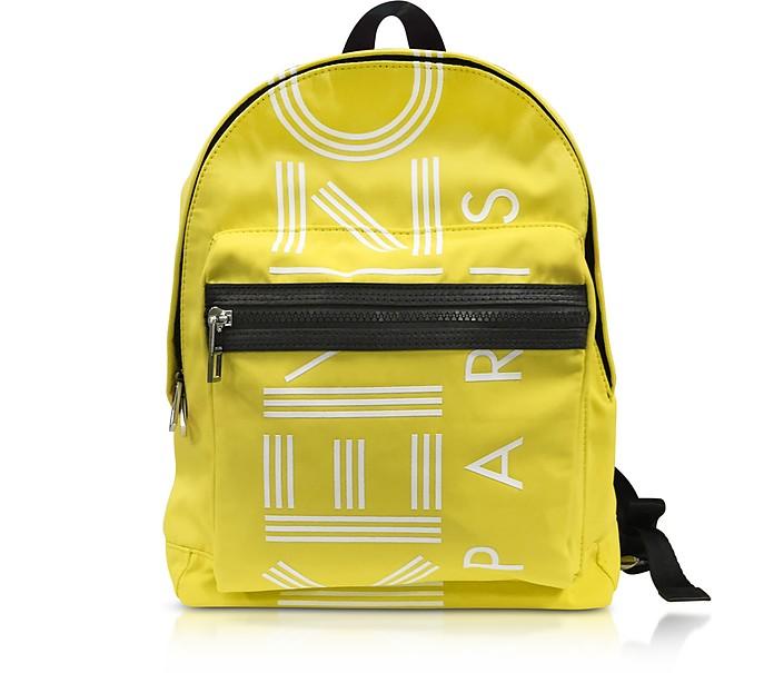Lemon Nylon Medium Kenzo Sport Backpack - Kenzo
