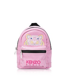 Flamingo Pink Canvas Mini Tiger Backpack - KENZO / ケンゾー