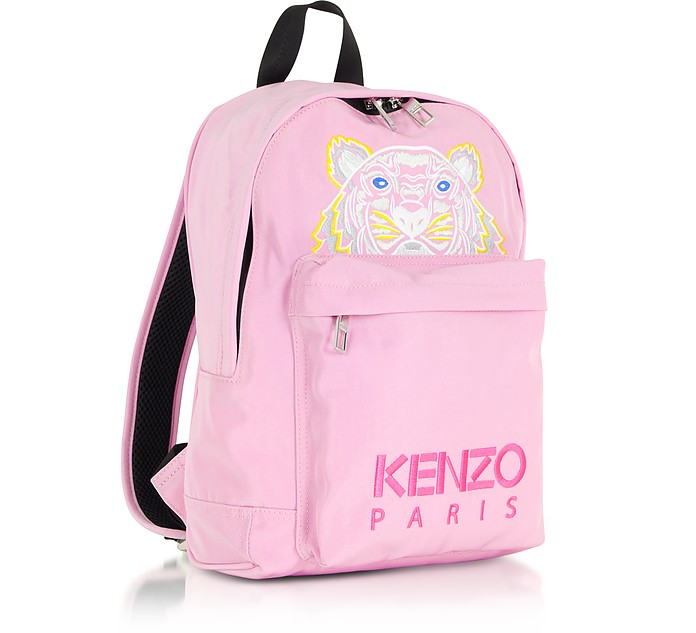 bb1745a6dcd5 Kenzo Flamingo Pink Canvas Medium Tiger Backpack at FORZIERI Australia