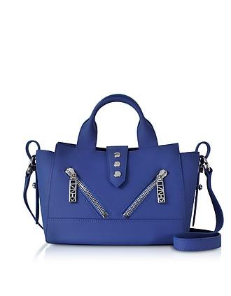 19ff6900 Cobalt Blue Small Kalifornia Gommato Leather Handbag - Kenzo