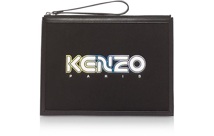 Black Kombo Large Pouch - Kenzo