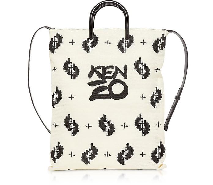 Off White Signature Tote Bag - Kenzo