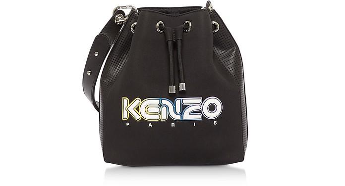 Black Kombo Bucket Bag - Kenzo