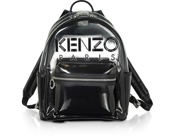 Black Transparent Kombo Backpack - Kenzo