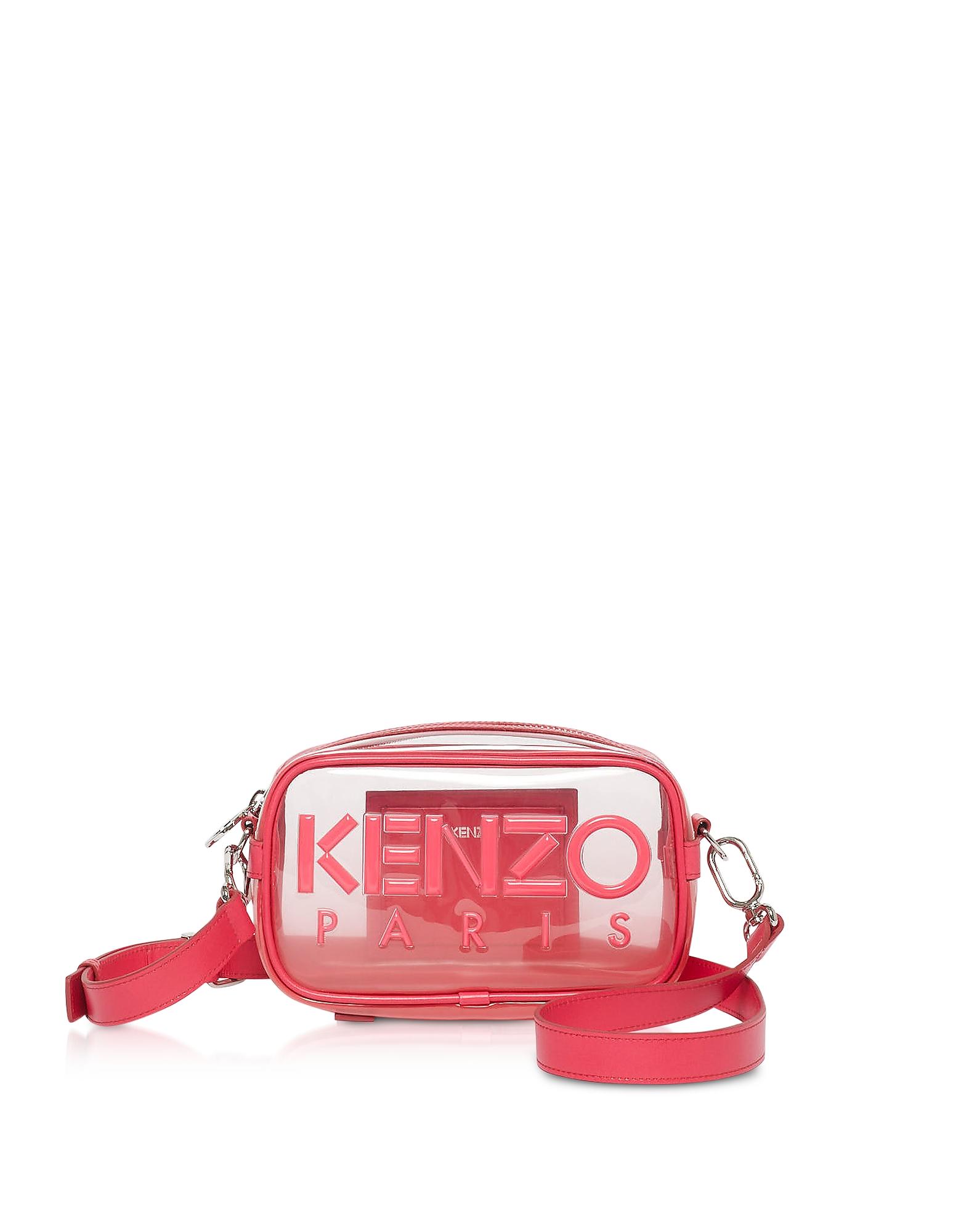 Kenzo Messengers TRANSPARENT KOMBO CROSSBODY BAG