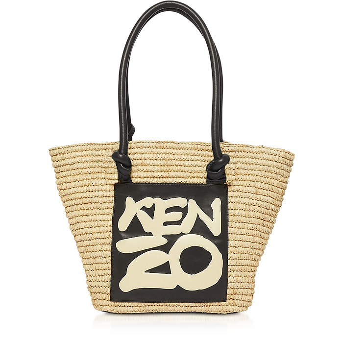 Kopakabana Raffia Tote Bag - KENZO / ケンゾー