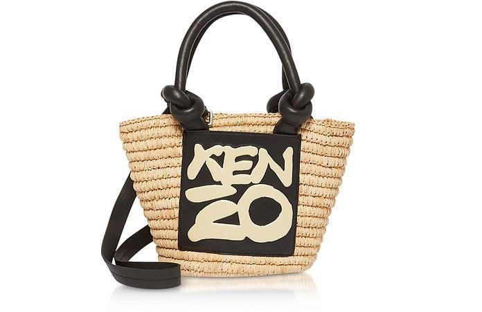 Kopakabana Raffia Mini Tote Bag - Kenzo