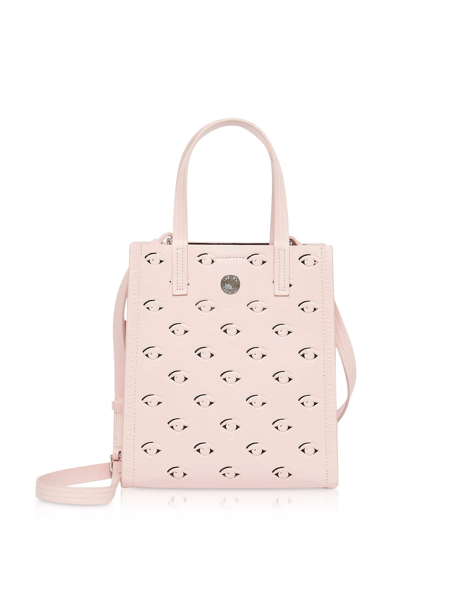 Kenzo Totes LEATHER BLINK SMALL TOTE