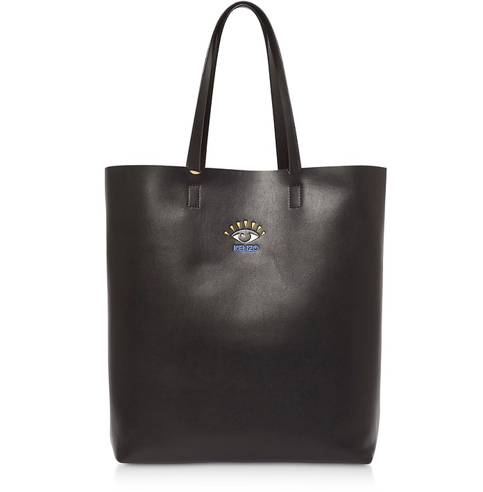 Cut Out Leather Tote Bag - Kenzo