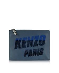 Kenzo Paris Leather Pouch