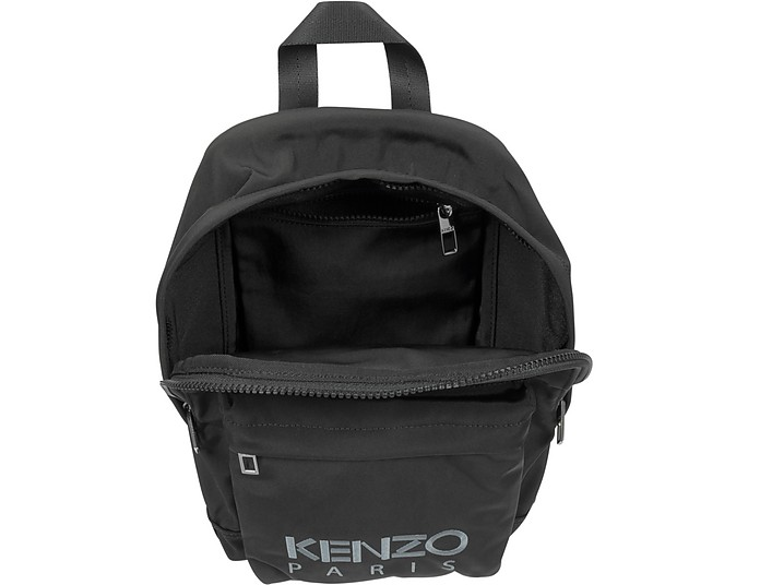 e5e65bf42519 Kenzo Black Canvas Medium Tiger Backpack at FORZIERI Australia