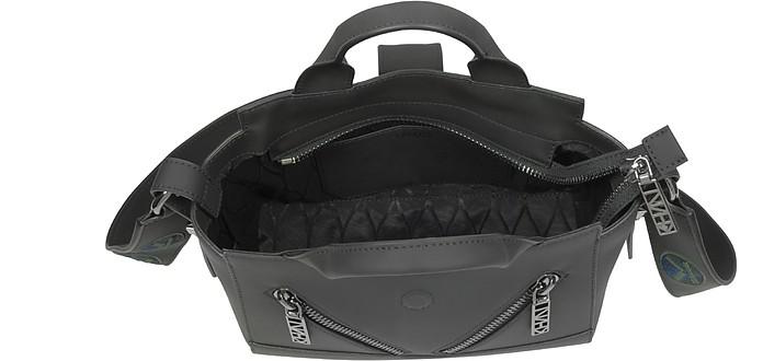 3798cec213b Kalifornia Black Gommato Leather Mini Tote Bag w/Animated Strap - Kenzo.  Sold Out