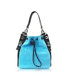 Kombo Color Block Neoprene Bucket Bag - Kenzo