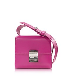 Fuchsia Leather Small Shoulder Bag - Kenzo