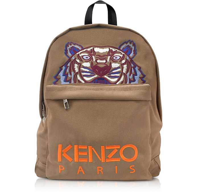 Large Tiger Canvas Backpack - Kenzo