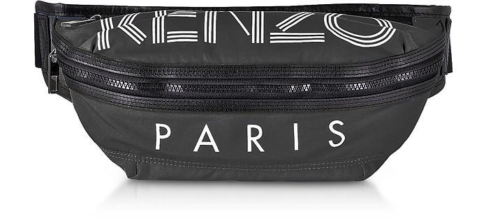 Kenzo Black Kenzo Sport Nylon Belt Bag at FORZIERI UK f4ca8a4472706